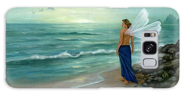 Galaxy Case - Ocean Fairy by Anne Kushnick