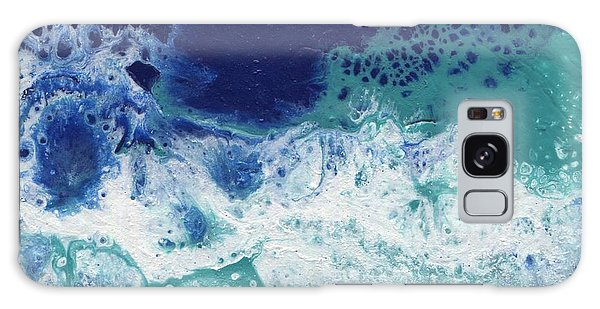 Galaxy Case featuring the painting Ocean by Jamie Frier