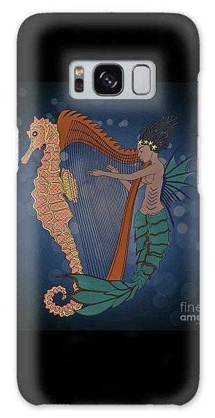 Galaxy Case featuring the digital art Ocean Lullaby1 by Megan Dirsa-DuBois