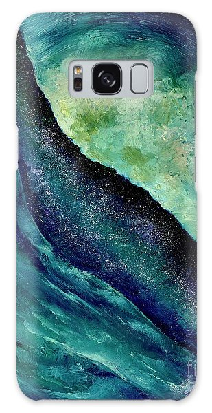 Ocean Meets Sky Galaxy Case