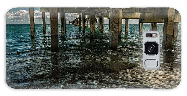 Ocean Pier Galaxy Case