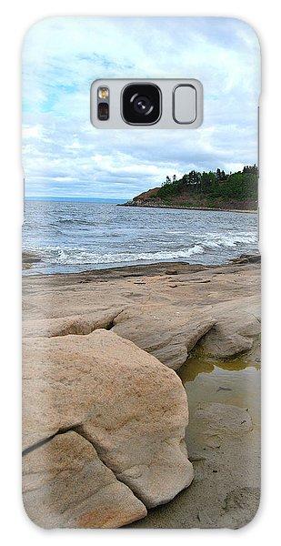 Ocean Rocks - Nova Scotia Galaxy Case