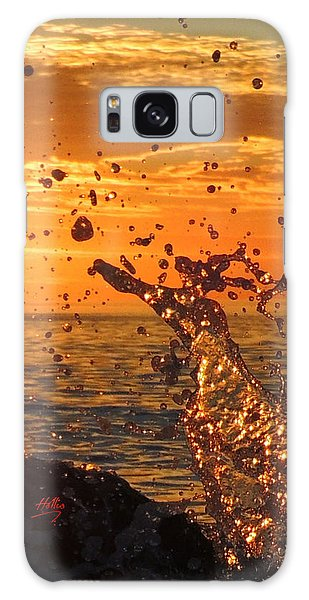Ocean Splash Galaxy Case