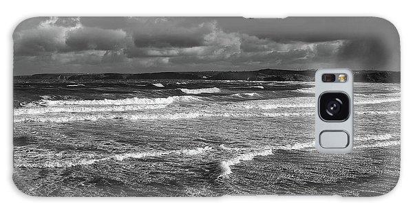 Ocean Storms Galaxy Case by Nicholas Burningham