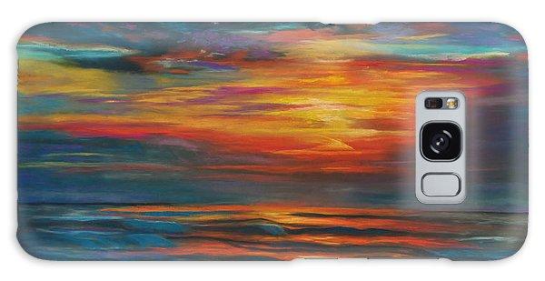 Ocean Sunrise Galaxy Case