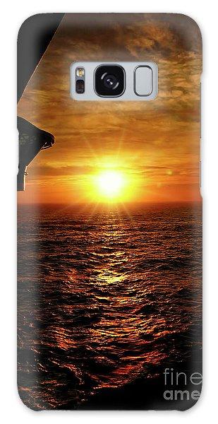 Ocean Sunset Galaxy Case