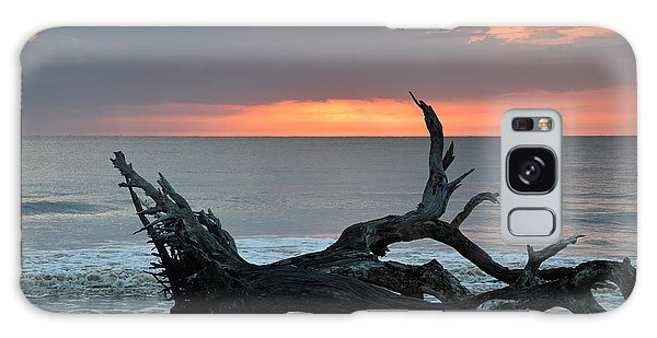 Ocean Treescape At Sunrise Galaxy Case by Bruce Gourley