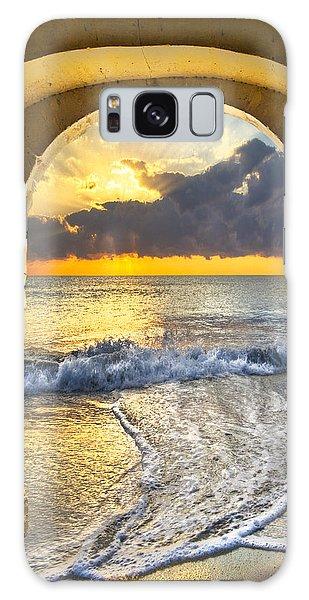 Boynton Galaxy S8 Case - Ocean View by Debra and Dave Vanderlaan