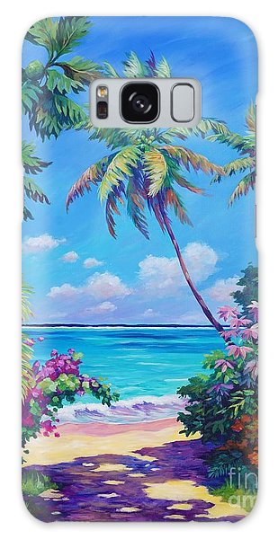 Galaxy Case - Ocean View With Breadfruit Tree by John Clark