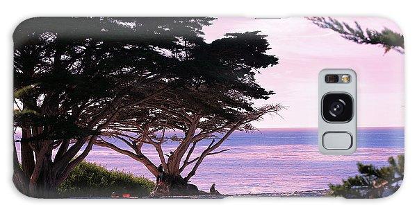 Ocean Views From Carmel Beach  Galaxy Case