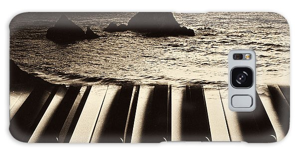 Ocean Washing Over Keyboard Galaxy Case