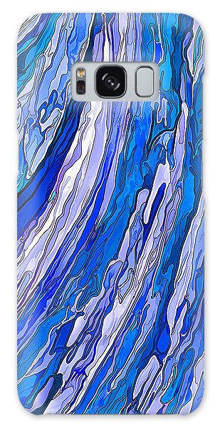 Ocean Wave Galaxy Case by ABeautifulSky Photography