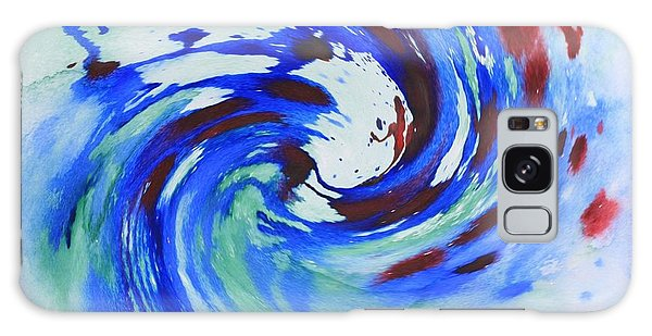 Ocean Wave Watercolor Galaxy Case