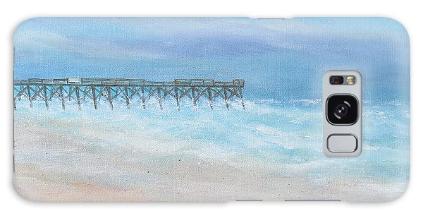 Oceanic Pier At Wrightsville Beach Galaxy Case