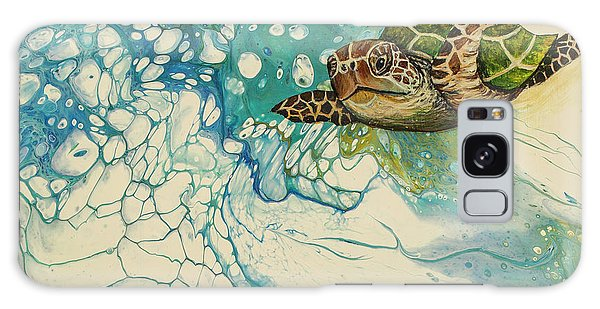 Galaxy Case featuring the painting Ocean's Call by Darice Machel McGuire