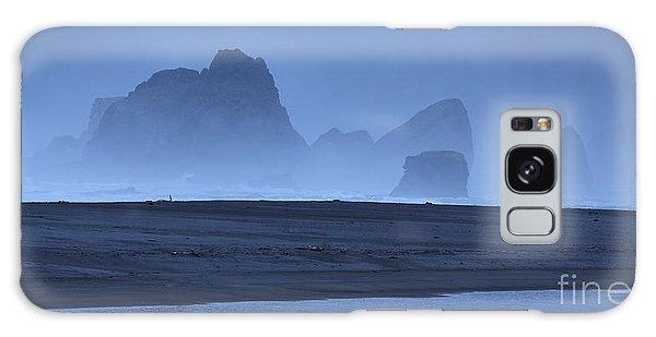 Oceanside Hoodoos Along The Oregon Coast Galaxy Case by Max Allen