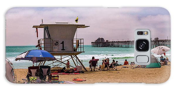 Oceanside Lifeguard Galaxy Case