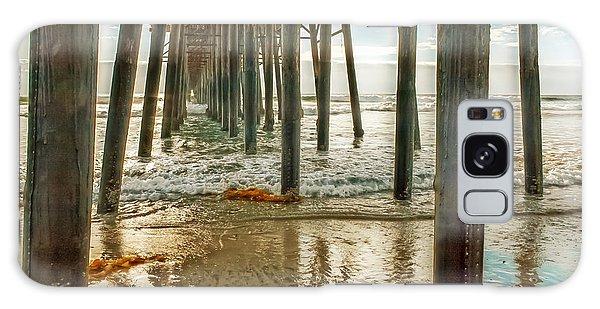 Oceanside - Low Tide Under The Pier Galaxy Case