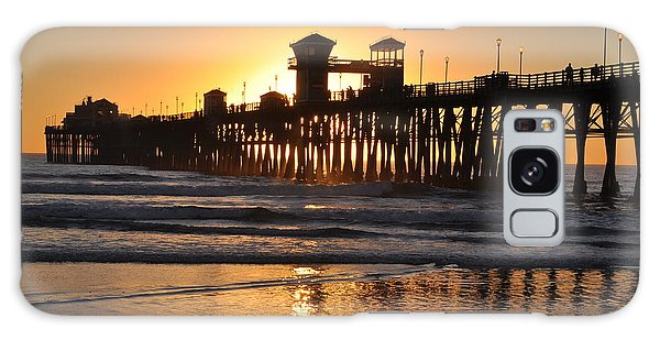Oceanside Pier Galaxy Case
