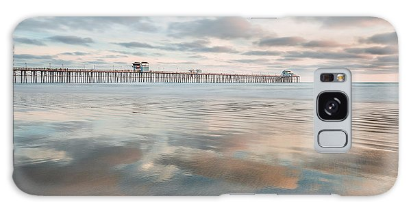 Oceanside Pier Gloss Galaxy Case by Alexander Kunz