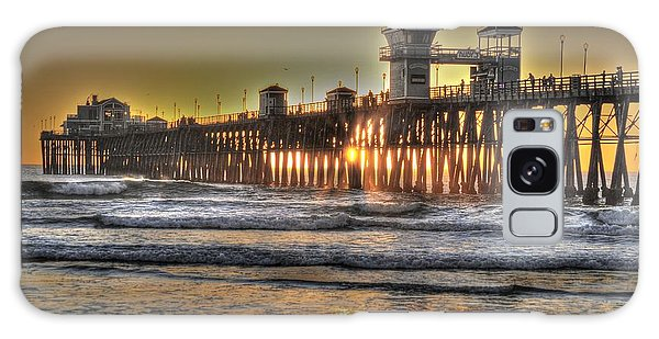 Oceanside Pier Hdr  Galaxy Case