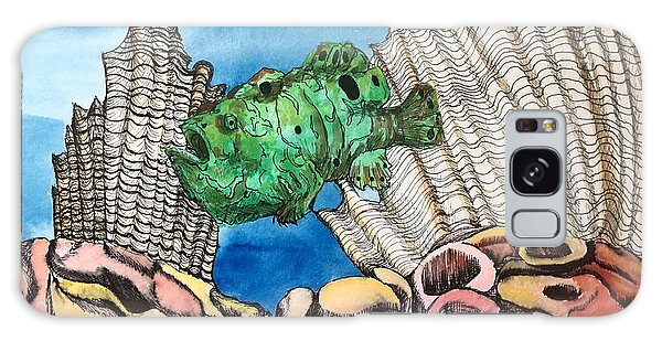 Ocellated Frogfish Galaxy Case
