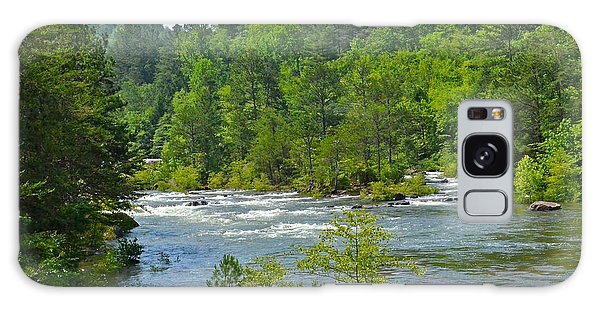 Ocoee River Galaxy Case by Carol  Bradley