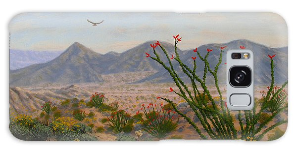 Galaxy Case - Ocotillo Paradise by Mark Junge