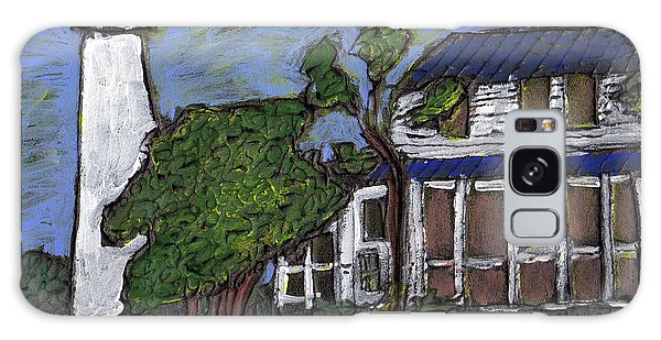 Ocracoke Island Light House Galaxy Case