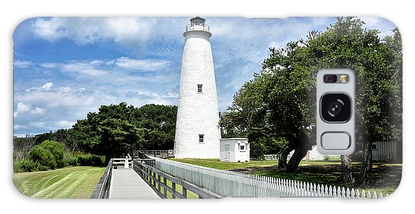 Ocracoke Light Galaxy Case