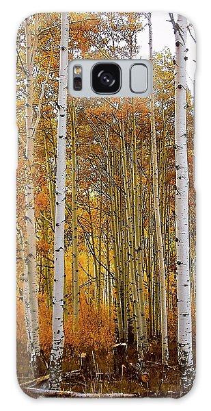 October Aspen Grove  Galaxy Case