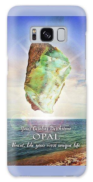 October Birthstone Opal Galaxy Case