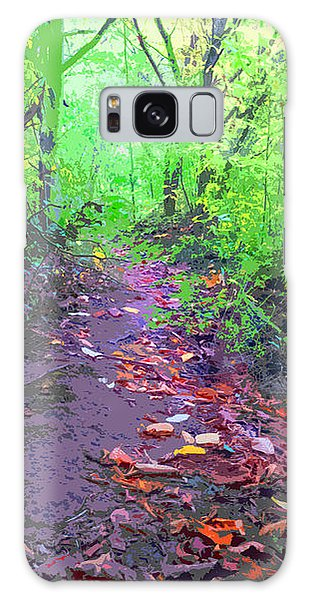 October Forest Pathway Galaxy Case