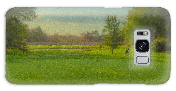 October Morning Golf Galaxy Case