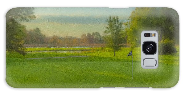 October Morning Golf Galaxy Case
