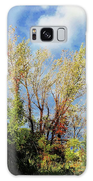 October Sunny Afternoon Galaxy Case