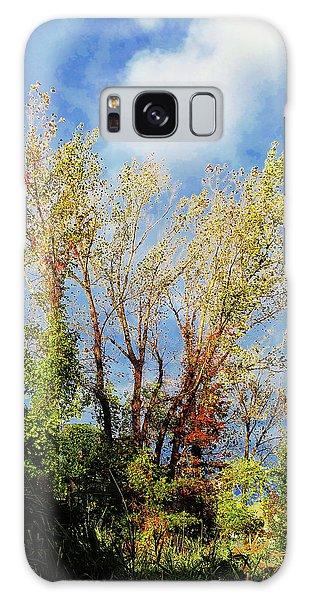October Sunny Afternoon Galaxy Case