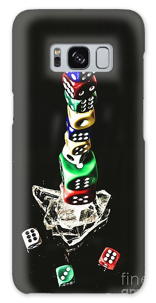 Gamble Galaxy Case - Odds Stacked Up by Jorgo Photography - Wall Art Gallery