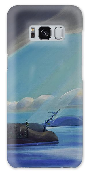 Ode To The North II - Left Panel Galaxy Case