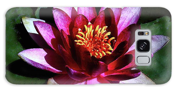 Ode To The Water Lily Galaxy Case