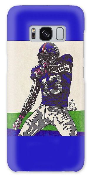 Odell Beckham Jr  Galaxy Case by Jeremiah Colley