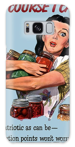 Food Galaxy Case - Of Course I Can -- Ww2 Propaganda by War Is Hell Store