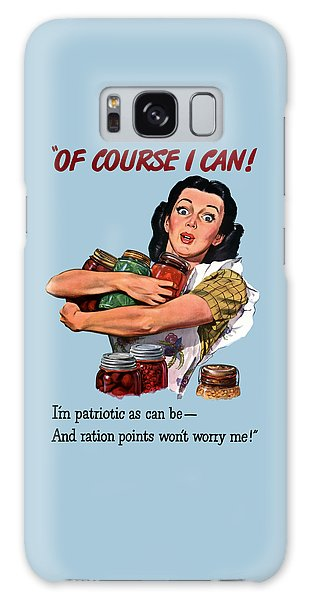 Political Galaxy Case - Of Course I Can -- Ww2 Propaganda by War Is Hell Store