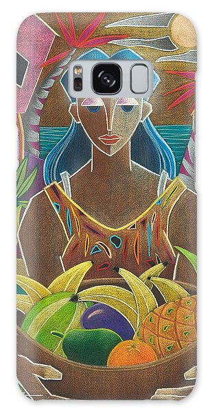 Galaxy Case featuring the painting Ofrendas De Mi Tierra by Oscar Ortiz