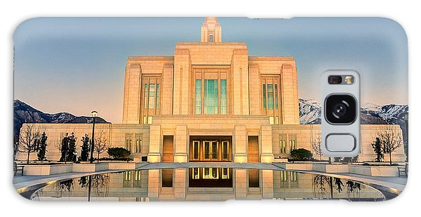 Ogden Lds Temple Galaxy Case