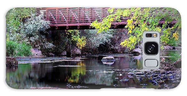 Ogden River Bridge Galaxy Case