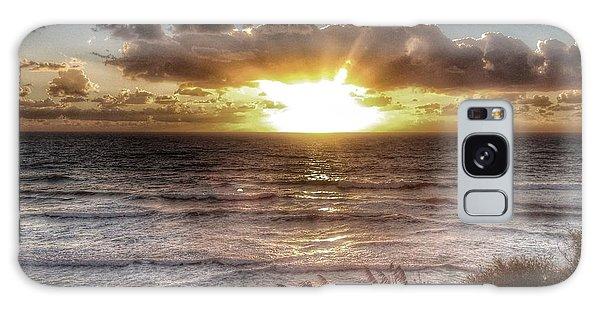 Oh But The Sea  Galaxy Case by Regina Avila