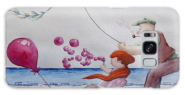 Oh My Bubbles Galaxy Case by Geni Gorani