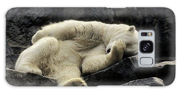 Oh What A Night Polar Bear Galaxy Case