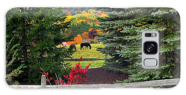 Ohio Farm In Autumn Galaxy Case
